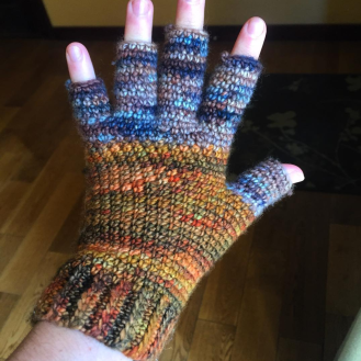 Crochet Hobo Gloves
