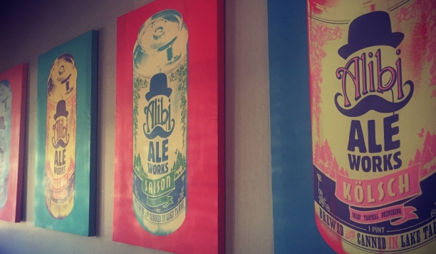 alibi truckee pop art decor
