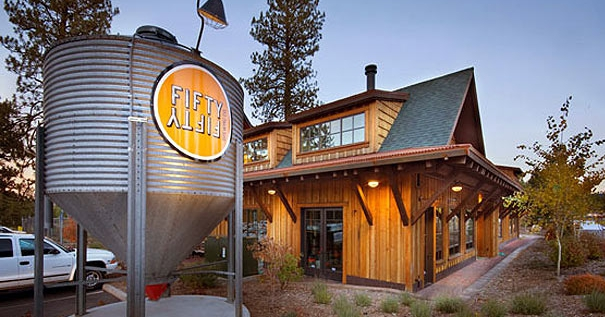 FiftyFifty Brewing in Truckee, CA